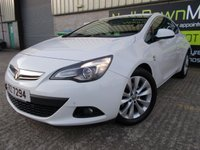 USED 2015 VAUXHALL ASTRA 1.4 GTC SRI 3d AUTO 138 BHP Excellent Condition, One Owner, FSH, Low Rate No Fee Finance Available, No Deposit Necessary, Stunning Looking Car