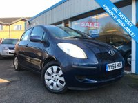 USED 2006 56 TOYOTA YARIS 1.3 T3 VVT-I MM 5d AUTO 86 BHP AUTO!! LOW MILEAGE