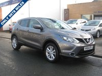 USED 2014 64 NISSAN QASHQAI 1.5 DCI ACENTA PREMIUM 5d 108 BHP Only 9878 miles, One owner, Zero road tax, Full service history, Satellite navigation, Reversing parking camera, Panoramic Roof, DAB Radio, Parking Sensors Front and Rear.