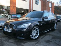 USED 2010 10 BMW 5 SERIES 2.0 520D M SPORT BUSINESS EDITION TOURING 5d AUTO 175 BHP