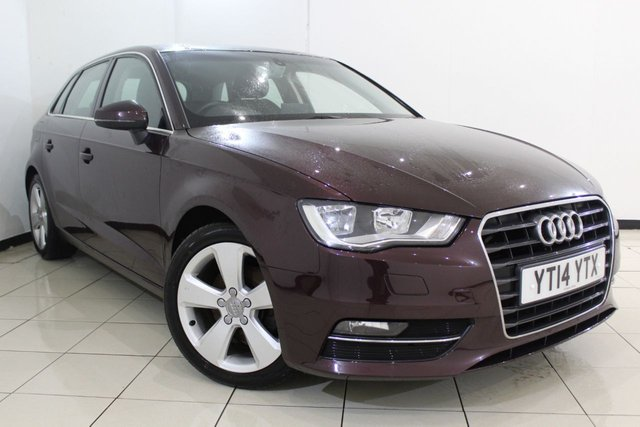 View our 2014 14 AUDI A3 2.0 TDI SPORT 5DR 148 BHP