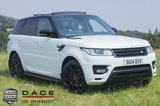 USED 2014 14 LAND ROVER RANGE ROVER SPORT 3.0 SDV6 AUTOBIOGRAPHY DYNAMIC 5DR AUTOMATIC 288 BHP SAT NAV Pan Roof Tv Bluetooth lots of extras  SERVICE HISTORY + HEATED LEATHER SEATS + SAT NAVIGATION + DVB-T DIGITAL TV TUNER + REVERSE CAMERA + PARKING SENSOR + BLUETOOTH + SIDE STEPS + CRUISE CONTROL + MULTI FUNCTION WHEEL + 22 INCH ALLOY WHEELS