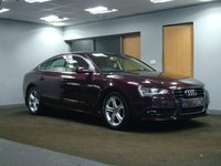 USED 2014 64 AUDI A5 2.0 SPORTBACK TDI SE TECHNIK S/S 5d AUTO 148 BHP++++++DEPOSIT RECEIVED ++++++