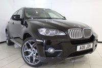 USED 2011 11 BMW X6 3.0 XDRIVE40D 4DR AUTOMATIC 302 BHP BMW SERVICE HISTORY + HEATED LEATHER SEATS + CRUISE CONTROL + PARKING SENSOR + MULTI FUNCTION WHEEL + RADIO/CD + 19 INCH ALLOY WHEELS