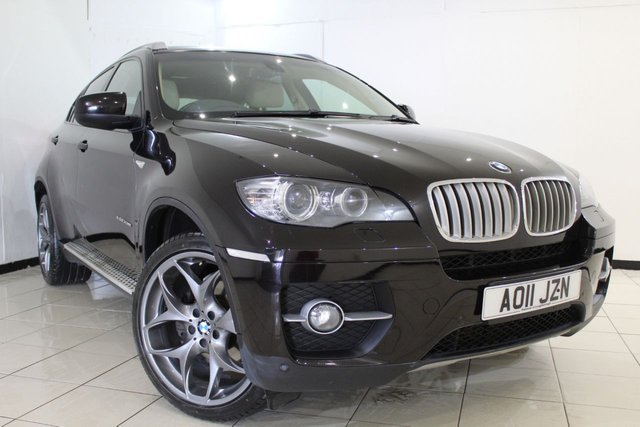 View our 2011 11 BMW X6 3.0 XDRIVE40D 4DR AUTOMATIC 302 BHP