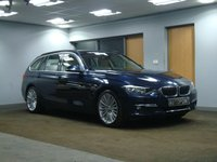 USED 2013 63 BMW 3 SERIES 2.0 320D XDRIVE LUXURY TOURING 5d AUTO 181 BHP++++ FOUR WHEEL DRIVE FAMILY CAR +++++