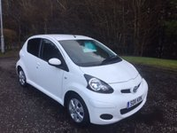 USED 2011 11 TOYOTA AYGO 1.0 VVT-I GO 5d 67 BHP 6 MONTHS PARTS+ LABOUR WARRANTY+AA COVER