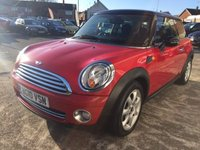 USED 2010 10 MINI ONE 1.6 COOPER 3d 122 BHP