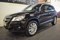 USED 2009 09 VOLKSWAGEN TIGUAN 2.0 SPORT TDI 5d 138 BHP LOVELY CONDITION INSIDE AND OUT