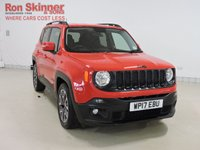 USED 2017 17 JEEP RENEGADE 1.6 M-JET NIGHT EAGLE II 5d 118 BHP