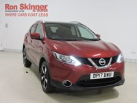 USED 2017 17 NISSAN QASHQAI 1.2 N-CONNECTA DIG-T 5d 113 BHP with Comfort Pack