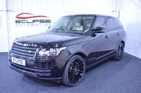 2013 LAND ROVER RANGE ROVER 3.0 TDV6 VOGUE 5d AUTO 258 BHP £SOLD