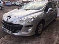 USED 2010 10 PEUGEOT 308 1.6 SW S HDI 5d 89 BHP