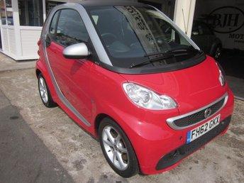 2012 SMART CAR ForTwo DIESEL 80+mpg!! £3495.00