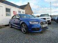 USED 2014 64 AUDI S3 Quattro 2.0 TFSI 4dr (300 bhp ) One Owner Low Mileage Super Sports Seats 4 x New Tyres