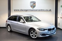 USED 2013 13 BMW 3 SERIES 2.0 316D SE TOURING 5DR 114 BHP + FULL BMW SERVICE HISTORY + BLUETOOTH + DAB RADIO + RAIN SENSORS + AUTO AIR CONDITIONING + PARKING SENSORS + 17 INCH ALLOY WHEELS +