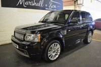 USED 2009 09 LAND ROVER RANGE ROVER SPORT 3.6 TDV8 SPORT HST 5d AUTO 269 BHP