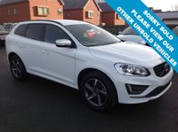 USED 2015 15 VOLVO XC60 2.0 D4 R-DESIGN 5d AUTO 187 BHP Full service history,   R-Design steering wheel,   R-Design leather upholstery,   Heated front seats,   Bluetooth,   Front and rear parking sensors
