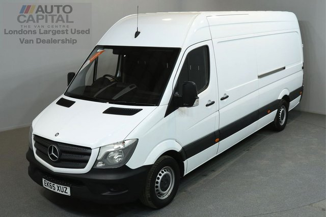 2015 65 MERCEDES-BENZ SPRINTER 2.1 313 CDI 129 BHP LWB HIGH ROOF ONE OWNER FROM NEW, SERVICE HISTORY