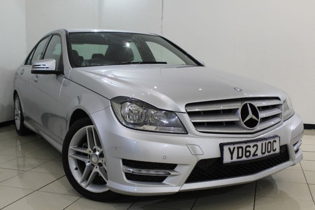 View our 2012 62 MERCEDES-BENZ C CLASS 2.1 C220 CDI BLUEEFFICIENCY AMG SPORT 4DR AUTOMATIC 168 BHP