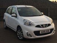 2015 NISSAN MICRA 1.2 ACENTA 5d AUTO 79 BHP £7495.00