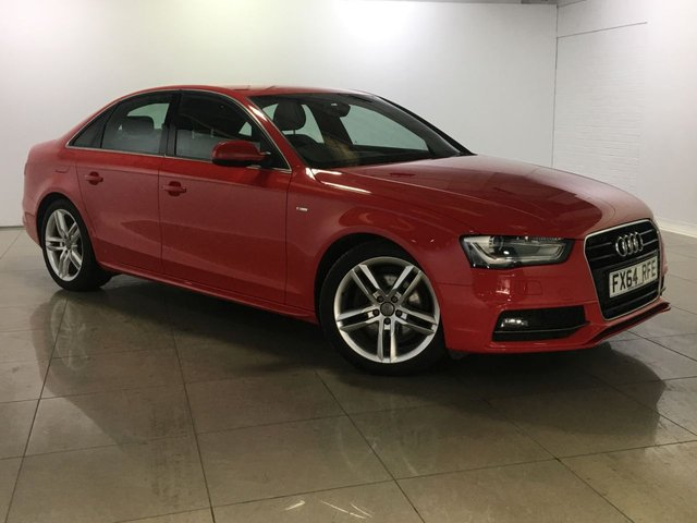 View our 2014 64 AUDI A4 2.0 TDI S LINE 4d 174 BHP