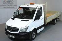 USED 2014 14 MERCEDES-BENZ SPRINTER 2.1 313 CDI LWB 2d 129 BHP DROPSIDE REAR TOW FITTED DROPSIDE LORRY ONE OWNER FROM NEW