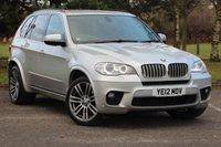 2012 BMW X5 3.0 XDRIVE40D M SPORT 5d AUTO 302 BHP £20490.00