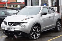 USED 2013 13 NISSAN JUKE 1.6 N-TEC 5d 115 BHP Mo t and Service when sold .3 Stamps