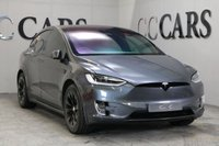 USED 2017 67 TESLA MODEL X 75D 5d AUTO SIX SEAT 2+2+2, SUPERCHARGER ENABLED, DUAL MOTOR ALL WHEEL DRIVE, AUTO PILOT ENABLED FOR HANDSFREE DRIVING, SMART AIR SUSPENSION, FREE SPOTIFY MUSIC, SURROUND CAMERA'S, BLACK LEATHER 6 SEATS, SPOTIFY MUSIC, GOOGLE AERIAL MAPPING, REMOTE ELECTRIC FALCON DOORS+FRONT POWER DOORS WITH SOFT CLOSE FEATURE KEYLESS ENTRY REMOTE ELEC BOOT COMPLETE WITH OPTIONAL TESLA HOME CHARGER FOR QUICKER CHARGING AND FREE CHARGING AT ALL TESLA SUPERCHARGING STATIONS