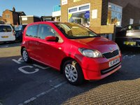 USED 2014 64 SKODA CITIGO 1.0 SE 12V 5d 59 BHP WITH AIR CONDITIONING, LOW INSURANCE AND FULL HISTORY!!..EXCELLENT FUEL ECONOMY!!..LOW CO2 EMISSIONS..£20 ROAD TAX...FULL SKODA HISTORY...ONLY 8134 MILES FROM NEW!!