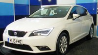 USED 2015 15 SEAT LEON 1.6 TDI SE TECHNOLOGY 5d 105 BHP A treuely stunning example of this highly sought after family hatchback, finished in unmarked brilliant white .,This car comes with the full technology pack which includes satellite navigation .bluetooth phone preparation media interface climate control plus all the usuall refinements. This car returns a very impressive combined mpg of 74.3  and free road tax ,diffinately one that has to be viewed