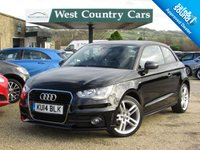 USED 2014 14 AUDI A1 1.2 TFSI S LINE 3d 84 BHP High Spec Including Satellite Navigation
