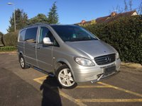 USED 2009 09 MERCEDES-BENZ VITO 2.1 115 CDI SPORT COMPACT DUALINER Air Conditioning, Electric Pack, 2 Owners From New