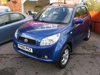 2006 DAIHATSU TERIOS 1.5 SE 5d AUTO 104 BHP £SOLD
