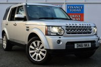 USED 2011 61 LAND ROVER DISCOVERY 3.0 4 SDV6 HSE 5d AUTO 255 BHP ONE OWNER FROM NEW
