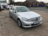USED 2014 14 MERCEDES-BENZ C CLASS 2.1 C220 CDI EXECUTIVE SE 4d AUTO 168 BHP  Full Main Dealer History-Sat Nav-Bluetooth Media Interface-Leather Upholstery-1 Former Keeper