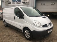 USED 2013 63 RENAULT TRAFIC 2.0 LWB LL29 6 SPEED 115BHP VERY CLEAN VAN CHOICE OF 8 IN STOCK  1 OWNER, JUST SERVICED,12 MONTHS MOT, 6 MONTH WARRANTY