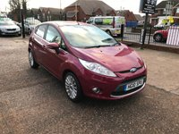 USED 2010 10 FORD FIESTA 1.6 TITANIUM TDCI 5d 89 BHP Full Service History-1 Former Keeper-£20 Per Year Road Tax-Bluetooth