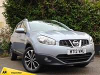 USED 2012 12 NISSAN QASHQAI 1.6 N-TEC PLUS IS DCIS/S 5d  **IDEAL FAMILY CAR**ECONOMICAL**