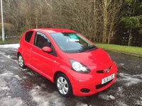 USED 2011 61 TOYOTA AYGO 1.0 VVT-I GO 3d 67 BHP 6 MONTHS PARTS+ LABOUR WARRANTY+AA COVER