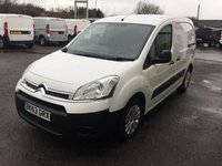 2013 CITROEN BERLINGO 625 LX L1 H1 1.6 HDI 75 £SOLD
