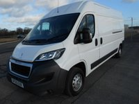 USED 2015 65 PEUGEOT BOXER LWB 335 L3 H2 Professional 130ps