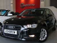 USED 2014 64 AUDI A3 SPORTBACK 1.6 TDI SE 5d 110 S/S £0 ROAD TAX, 1 OWNER FROM NEW, FULL AUDI SERVICE HISTORY, BLUETOOTH W/ AUDIO STREAMING, DAB, AUDI MUSIC INTERFACE FOR IPOD / MP3 / USB, A/C, SD CARD READER X2, DIS TRIP COMPUTER W/ DIGI SPEED DISPLAY, FRONT FOGS, HALOGEN DDAYTIME RUNNING LIGHTS, ELECTRIC WINDOWS, ELECTRICALLY OPERATED HEATED DOOR MIRRORS, EFFICIENCY PROGRAM, TYRE PRESSURE MONITORING SYSTEM, LEATHER MULTI FUNCTION STEERING WHEEL, VAT Q