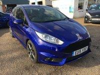 2015 FORD FIESTA 1.6 ST-3 3d 180 BHP £11500.00