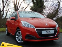 USED 2015 65 PEUGEOT 208 1.2 ACTIVE 3d * 128 POINT AA INSPECTED *