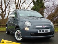 USED 2014 14 FIAT 500 1.2 COLOUR THERAPY 3d  * 128 POINT AA INSPECTED *