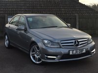 2011 MERCEDES-BENZ C CLASS 2.1 C220 CDI BLUEEFFICIENCY SPORT 4d AUTO 168 BHP £11995.00