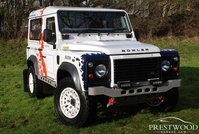 2014 14 LAND ROVER DEFENDER 90 2.2TD BOWLER MOTORSPORT RALLY PREPPED * NO. 11 OF 18 * [170Bhp]