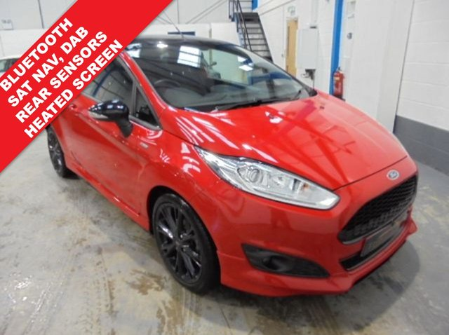 2017 17 FORD FIESTA 1.0 ST-LINE RED EDITION 3d 139 BHP